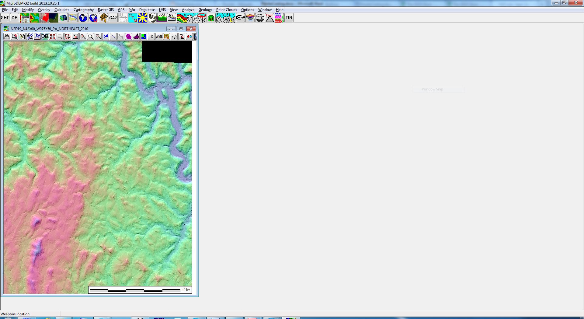ReidB net -- Creating STLs from USGS datasets